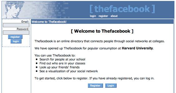 Bio-infografía de los 10 primeros años de Facebook