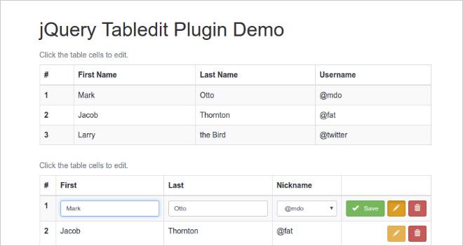 White Paper: Cómo crear una tabla editable con PHP, MySQL y jQuery