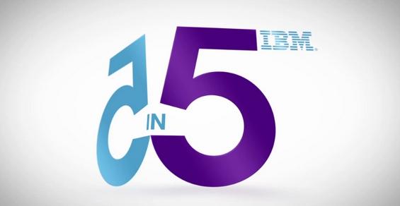 """Infografía """"IBM 5 en 5"""", las predicciones en innovación marcadas por nuestros sentidos (2012)"""