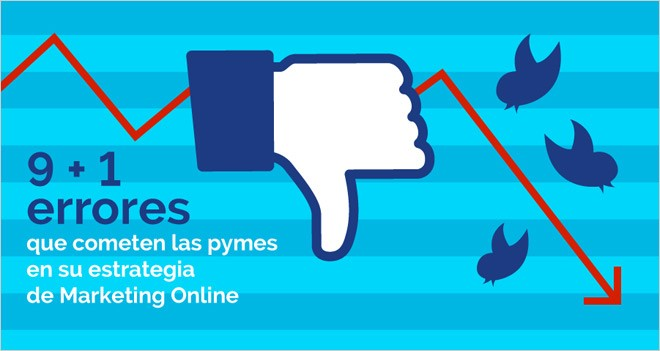 9 + 1 errores que cometen las pymes en su estrategia de Marketing Online