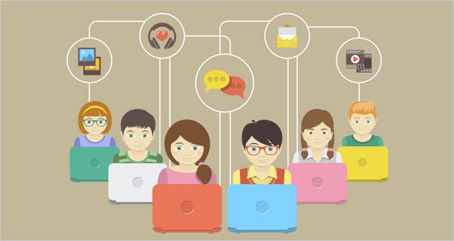 El 90% de los niños de 4 a 12 años ya usa plataformas como YouTube, Facebook o Instagram