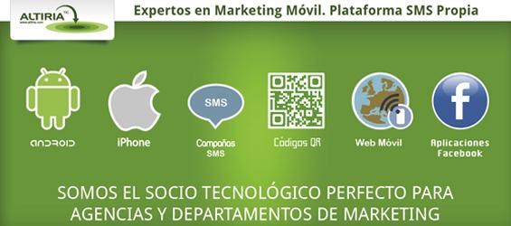 Caso de cliente: Altiria, expertos en marketing móvil con plataforma SMS propia