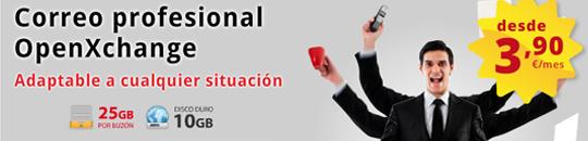 Hostalia lanza el Correo Profesional Open-Xchange