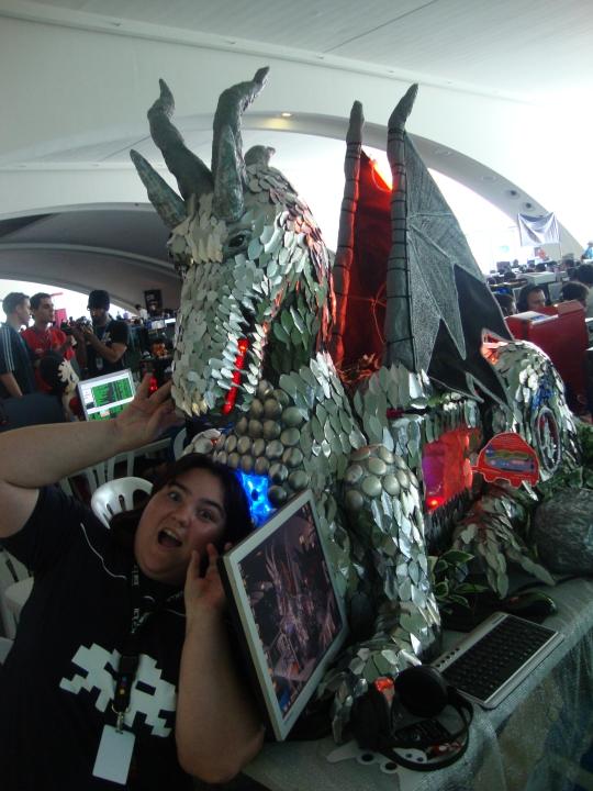 Dragón de Deborah Ruiz