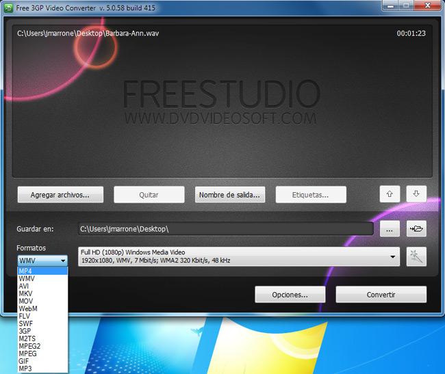 Free-3GP-Video-Converter