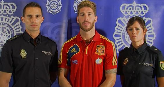 Sergio Ramos da sus consejos de seguridad en Internet