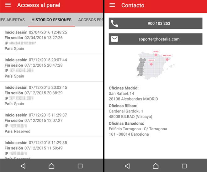 accesos-panel-contacto-app-hostalia-blog-hostalia-hosting