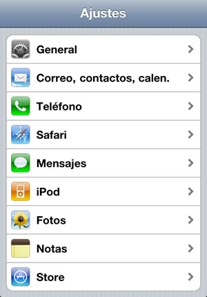 ajustes iphone - blog hostalia hosting