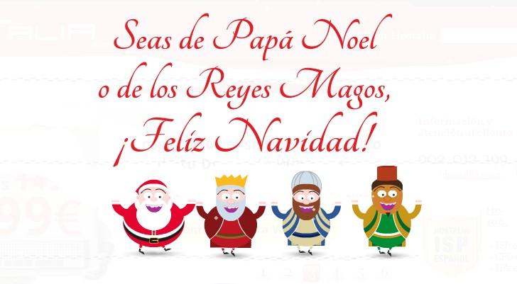 animacion felicitacion navidad - blog hostalia hosting