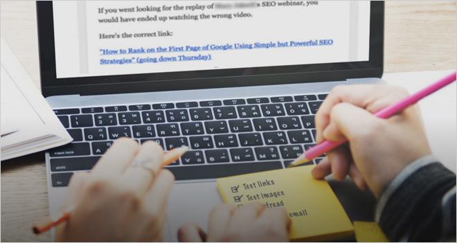 Checklist con 20 puntos para el emailing perfecto