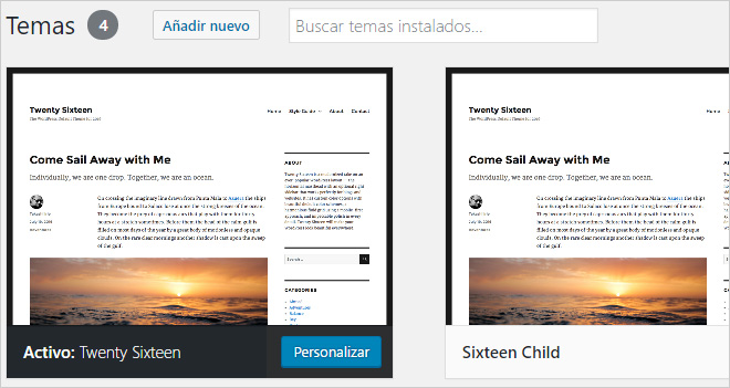 White Paper: Child Theme, cómo crear un tema hijo en WordPress