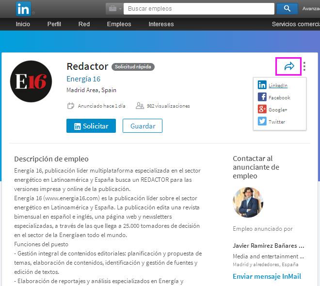 compartir-oferta-trabajo-linkedin-blog-hostalia-hosting