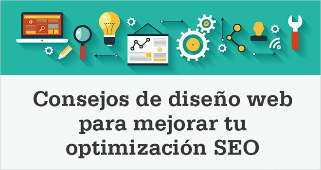 Infografía: Consejos de diseño web para optimizar el SEO Onpage