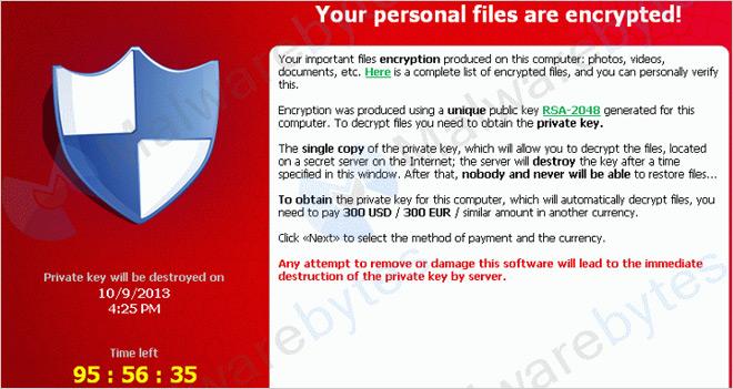 CryptoLocker, el virus estafa a los usuarios haciéndose pasar por Correos
