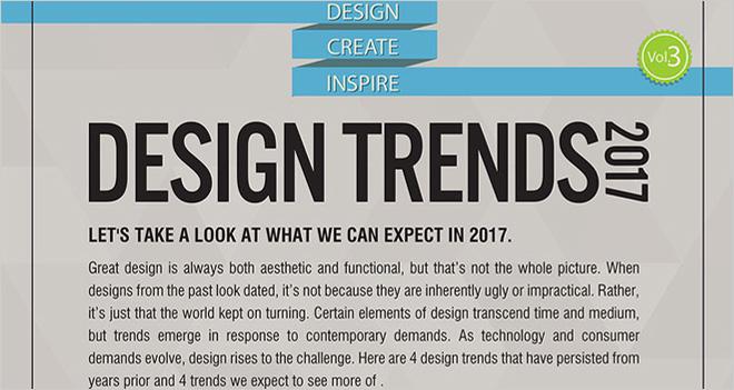 #Infografía 8 claves del diseño digital para 2017