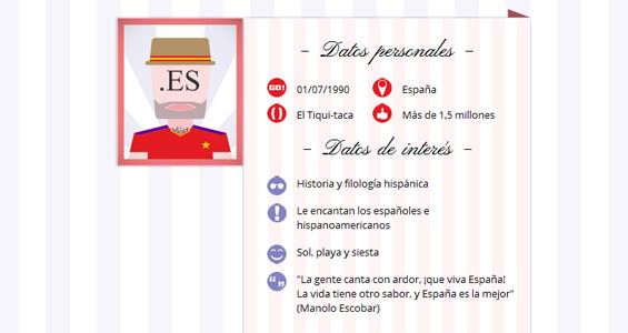 El dominio '.es' es el más utilizado en España y creció un 5,1% en 2013