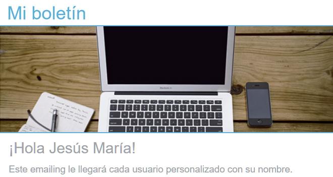 Cómo enviar emailings personalizados