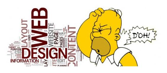 White Paper: Errores comunes a la hora de diseñar nuestra página web