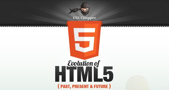 Infografía: La evolución del pasado, presente y futuro del HTML5