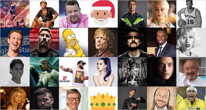 ¡Felicita la Navidad a las celebrities!