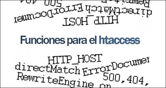 White Paper: Cómo ejecutar las principales funciones del archivo .htaccess