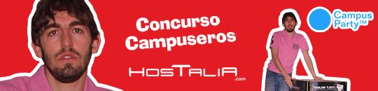 Arturo Pérez, el primer campusero que disfrutará de una noche de alojamiento en la Campus Party 2011