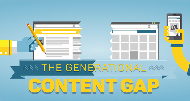 Infografía: ¿Qué contenidos consume cada generación?
