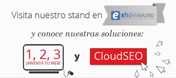 Visita el stand de Hostalia en eShow Madrid, la feria del comercio electrónico