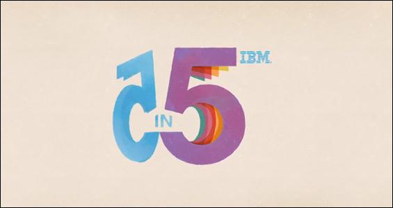 Infografía: las predicciones tecnológicas de IBM para su '5 en 5' (2013)