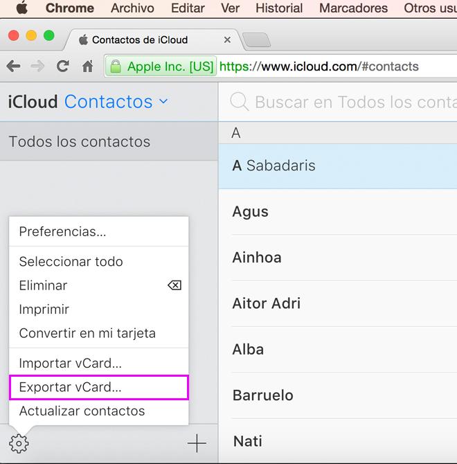 icloud-exportar-blog-hostalia-hosting