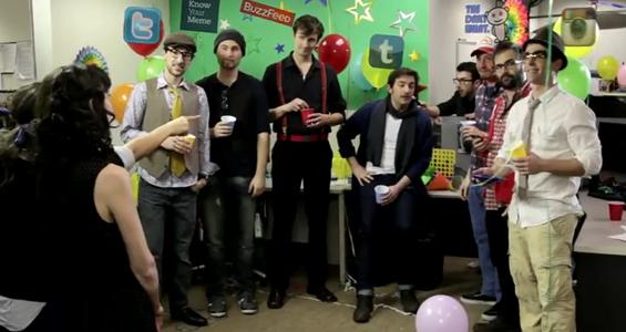 Internet Party: ¿cómo serían las webs si fueran personas reales?
