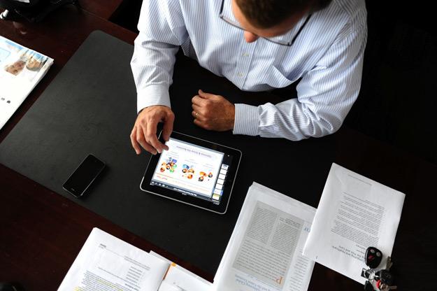 ipad en las empresas - blog hostalia hosting