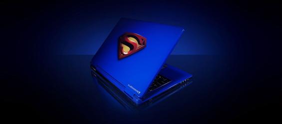 Superman, si quieres hacerte un blog, ¡en Hostalia te damos un Superhosting!