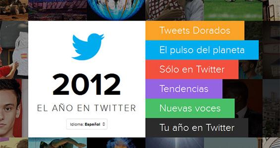 Twitter y Youtube muestran lo mejor del 2012, mientras que Facebook te recuerda lo mejor de tu año