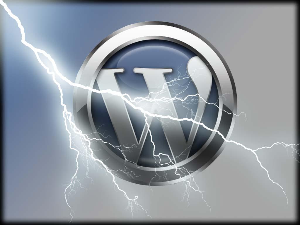 logo wordpress rayo - blog hostalia hosting