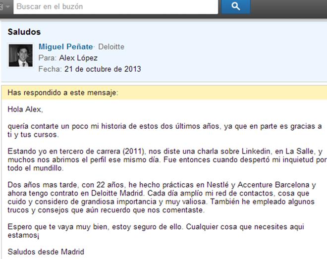 miguel-penate-agradece-alex-lopez-linkedin-blog-hostalia-hosting