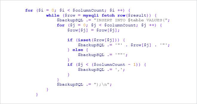 White Paper: Cómo hacer backup de una base de datos MySQL utilizando PHP