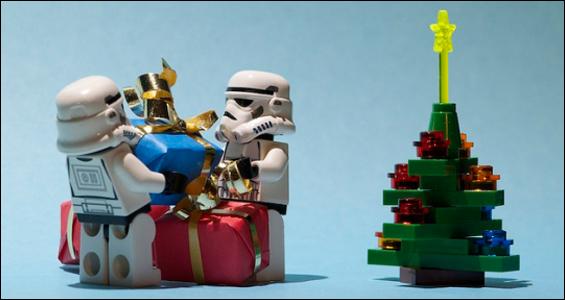 Navidad con adornos Geek