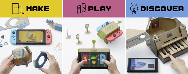 Nintendo Labo, un nuevo mundo de cartón para la Switch