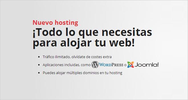 Disfruta de 1 año gratis de hosting con Hostalia