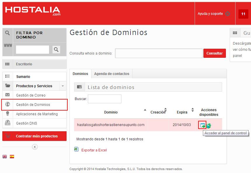 Cuándo es útil redirigir dominios y cómo hacerlo « Hostalia – Blog