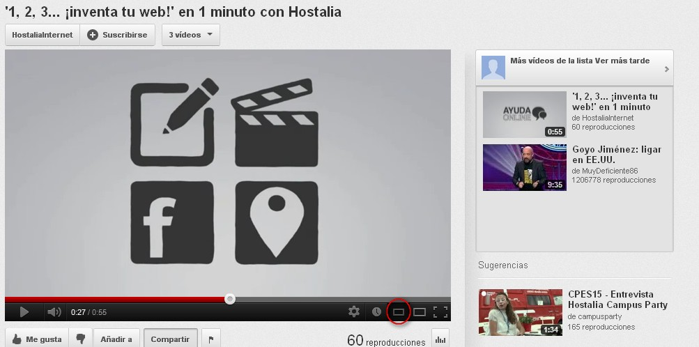 pantalla reducida - blog hostalia hosting