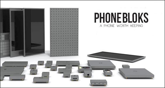 Phonebloks: el smartphone que puedes construir como si fuera un Lego