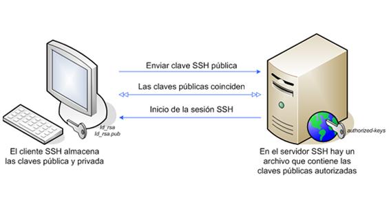 White Paper: Cómo configurar el protocolo SSH
