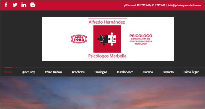 """""""Las consultas pueden ser presenciales, mediante Skype, email e incluso WhatsApp"""", Alfredo Hernández de Psicólogos Marbella (Caso de cliente)"""