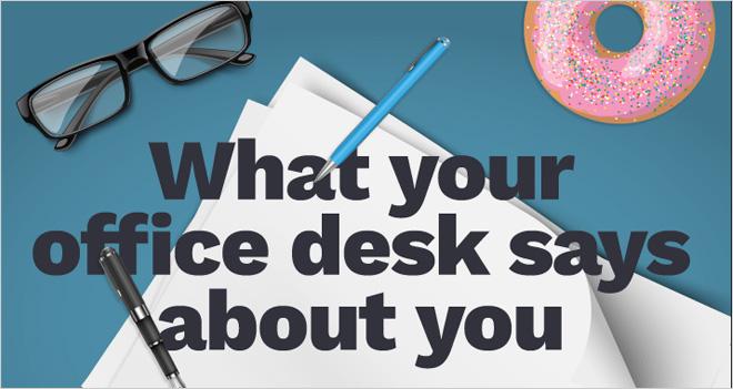 #Infografía Lo que tu puesto de trabajo dice sobre ti