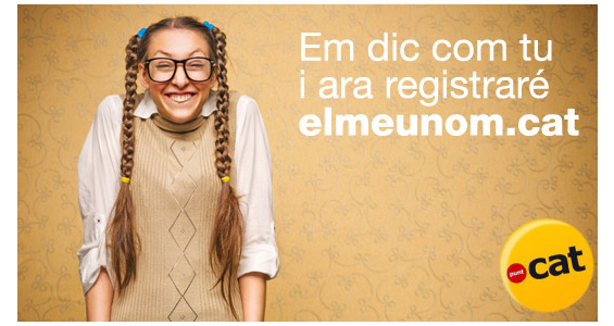 ¡Ya puedes registrar tu dominio .cat en Hostalia!