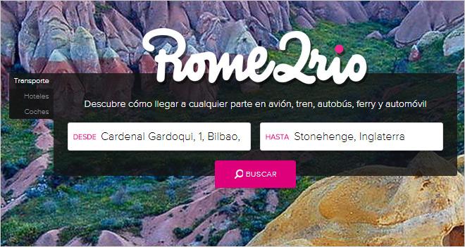 Rome2rio: cómo llegar a cualquier parte en avión, tren, autobús, coche… ¡o andando!