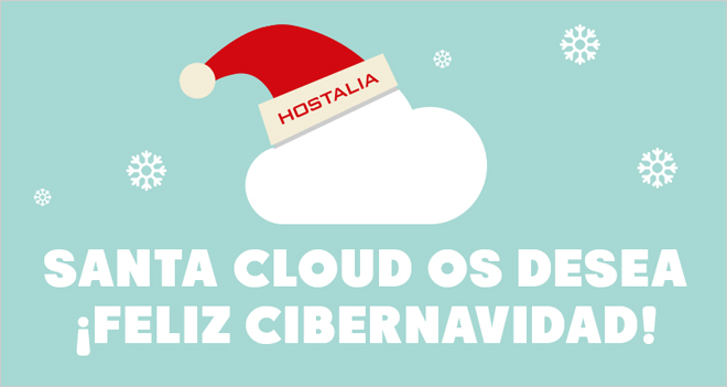 Santa Cloud os desea… ¡Feliz Cibernavidad!