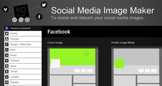 Crea fácilmente las imágenes de tus redes sociales con Social Media Image Maker